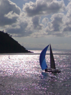 Sailing in San Sebastian